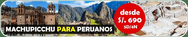 Machu Picchu Peruanos