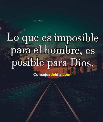 imposible frases