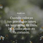 Imagenes con Frases: Paz en tu Corazon