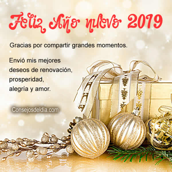 año nuevo 2019