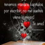 Frases lindas: Juntos por siempre mi amor