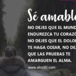 Imagenes bonitas con Frases de Amabilidad