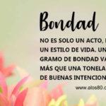 Imagenes lindas con mensajes de Bondad