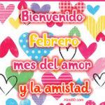 Frases de Bienvenido Febrero 2021 con imagenes lindas