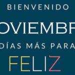 Frases de Bienvenido Noviembre con Imagenes