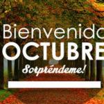Mensajes lindos con frases de octubre