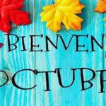 Frases con imagenes bonitas de Bienvenido octubre