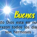 Mensajes bonitos con imagenes de Buenos Dias