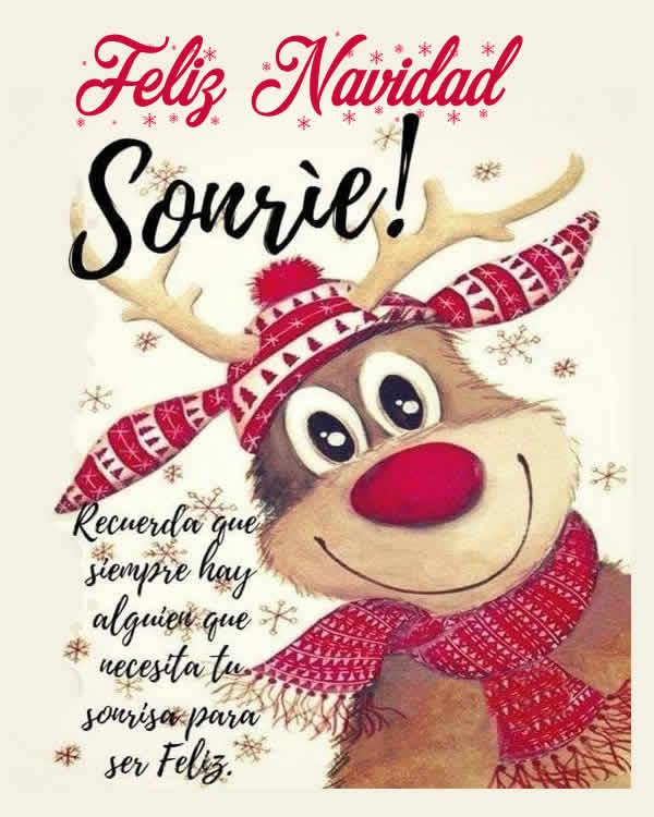 sonrie en navidad