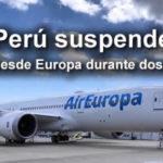 Perú suspende vuelos desde Europa durante 2 semanas por nueva cepa del Covid-19