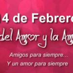 14 de Febrero Dia del Amor y la Amistad 2021