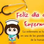 Mensajes de Feliz dia de la enfermera con imagenes