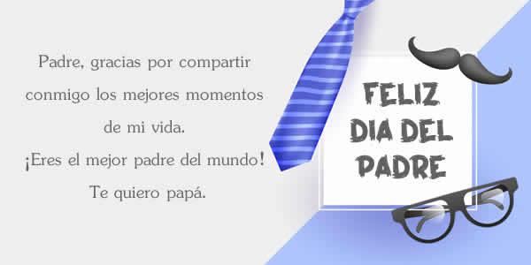 mensajes dia del padre