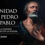 Imagenes con frases de Feliz San Pedro y San Pablo 2021