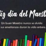 Frases Dia del Maestro 2021 con imagenes
